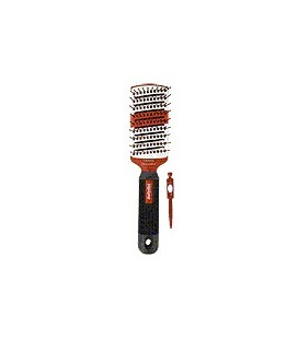 Brush to detangle and smooth Ceramic Tourmaline(flat)
