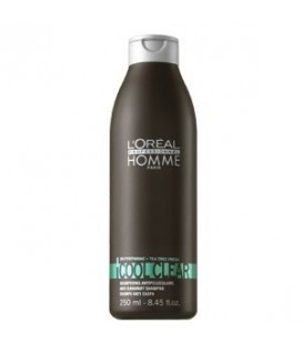 Shampoo cool clear L'oreal Man 250ml