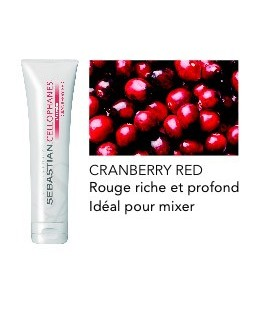 Cellophanes Red Red - Cranberry red
