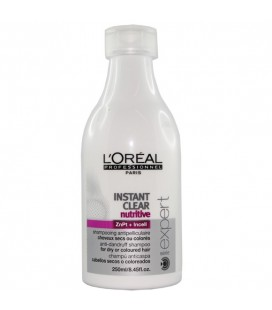 Instant clear nutritive Shampoo for dry hair, or coloured 250ml