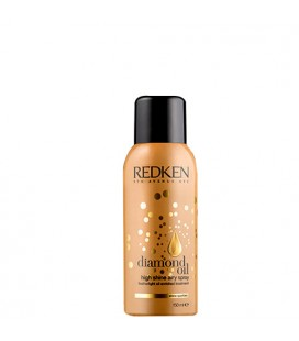 Diamond oil high shine airy spray