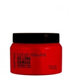 Matrix Total results so long damage strength pak masK 500ml