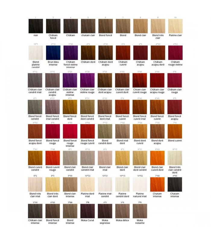 Color Swatch Yza Eugene Perma Color