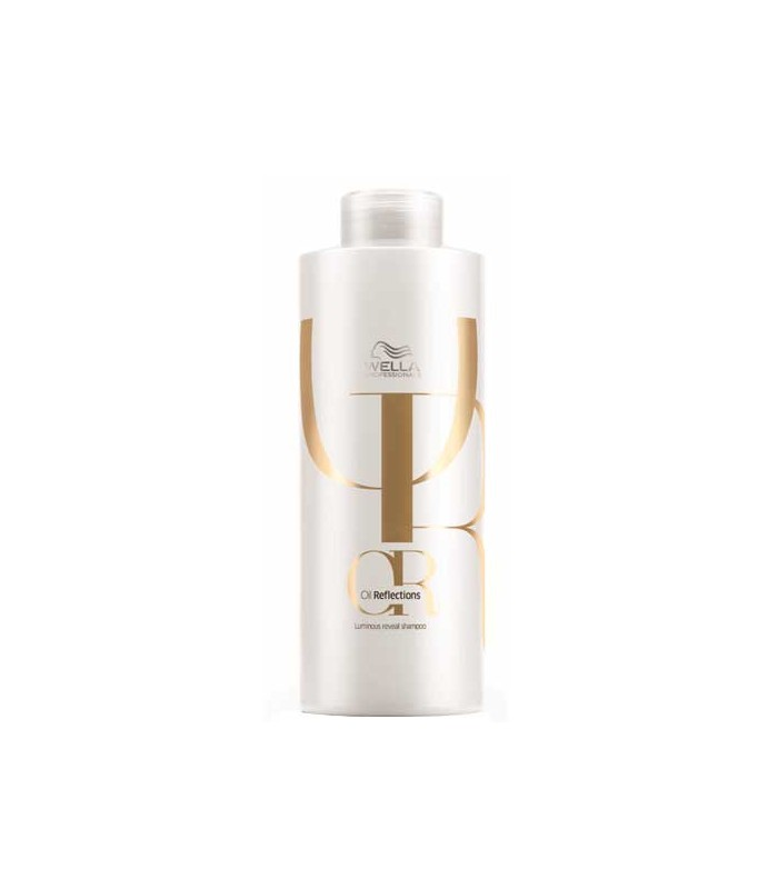 wella oil reflections or shampooing rvlateur de lumire 1000ml - Shampoing Wella Cheveux Colors