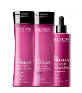Fabulous daily care pack express care normal to thick hair