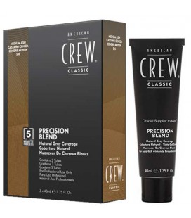 American Crew Precision Blend Middle Ash (5-6) 3x40ml