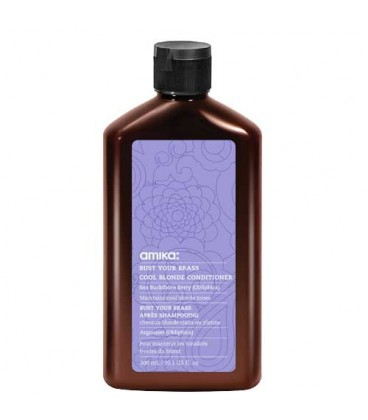 Amika Bust Your Brass conditioner - Soin cheveux blonds 300ml