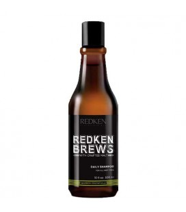 Redken Brews Daily Shampoo - shampooing quotidien 300ml