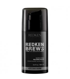 Redken Brews Work Hard pâte coiffante modelante 100ml