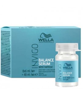 Wella Invigo Balance sérum antichute 8X6ml