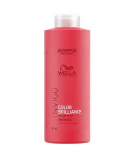Wella Invigo Color Brilliance shampooing cheveux fins 1000ml