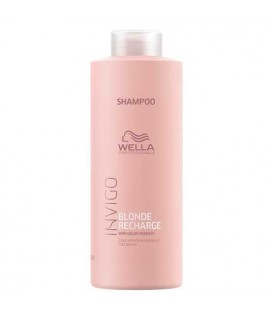 Wella Invigo Blonde recharge shampooing 1000ml