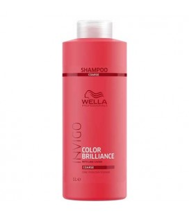 Wella Invigo Color Brilliance shampooing cheveux épais 1000ml