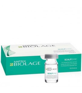 Biolage Scalpsync Traitement anti chute Aminexil (10*6ml)