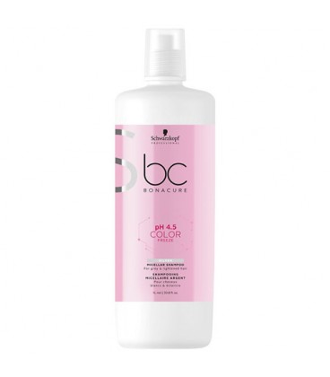 BC pH 4.5 Color Freeze Shampooing Micellaire Argent Schwarzkopf