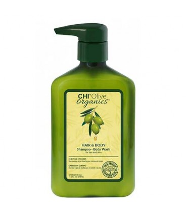 CHI Olive Organics Hair and Body shampooing et gel douche 340ml