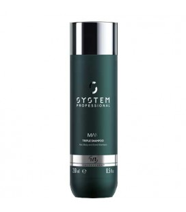 System Professional Man Triple M1 Shampoo men 250ml
