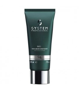 System Professional Man M2 conditioner hair and beard 200ml