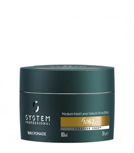 System Professional Man M62 Wax Pomade 80ml