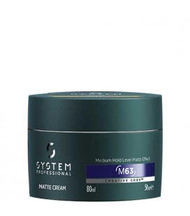 System Professional Man M63 Matte Cream 80ml