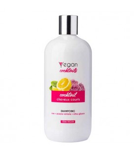 Vegan Cocktail Cocktail Short Hair Shampoo 500ml