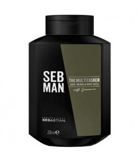 SEB MAN The MuliTasker shampooing 3 en 1 250ml