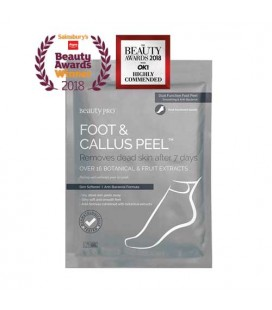 Beauty Pro Foot and Callus Peel masque pieds exfoliant 1 paire