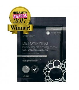 Beauty Pro foaming detoxifying mask with activated charcoal 18g