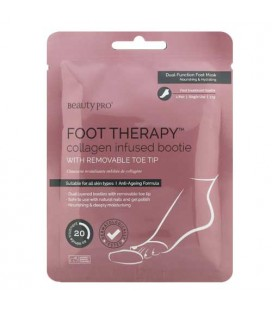 Beauty Pro Foot Therapy bottillon de traitement Imbibé de Collagène 1 paire