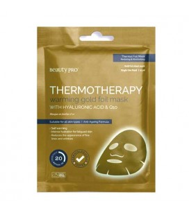 Beauty Pro Mask Thermotherapy Gold Heated Mask