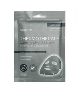 Beauty Pro Mask Thermotherapy Silver heating mask illuminator complexion