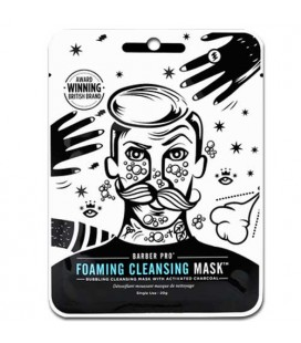BARBER PRO Foaming Cleansing Mask masque de nettoyage