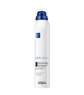 Serioxyl Spray Coloré Volumateur cheveux bruns 200ml