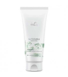 Wella NutriCurls conditioner for wavy, curly hair 200ml