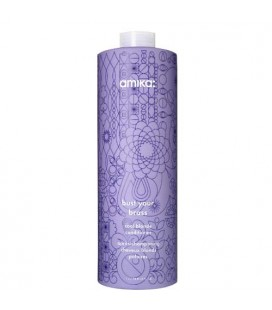 Amika Bust Your Brass Conditioner - cool blonde hair care 1000ml