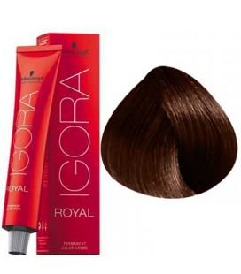 Royal Igora 5-68 light chestnut brown red 60ml