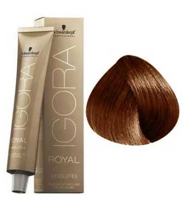 IGORA ROYAL ABSOLUTE CHATAIN CLAIR CUIVRE NATUREL 5-70 (60ml)