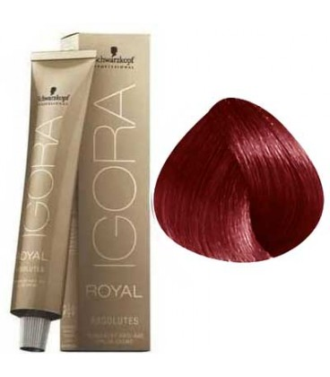 IGORA ROYAL ABSOLUTE BLOND FONCE ROUGE NATUREL 6-80 (60ml)