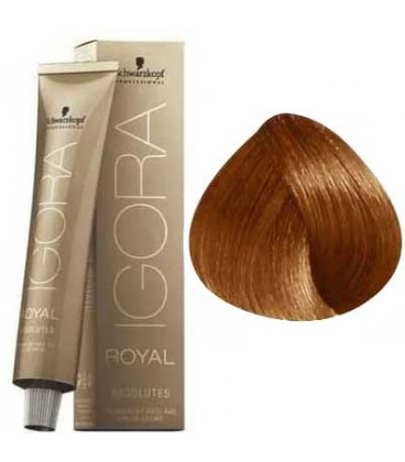 IGORA ROYAL ABSOLUTE BLOND MOYEN CUIVRE NATUREL 7-70 (60ml)