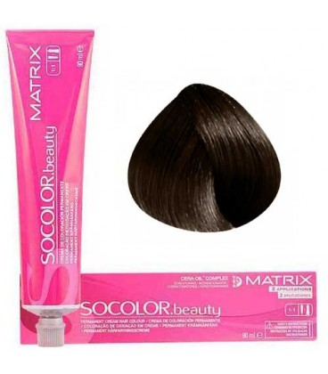 Socolor beauty 4Nw Chatain naturel Marron Chaud 84ml