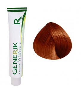 Generik no paraben 6.45 Dark Blonde coppery mahogany 100ml