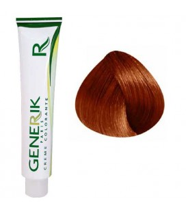 Generik no paraben 6.46 Dark Blonde coppery red 100ml