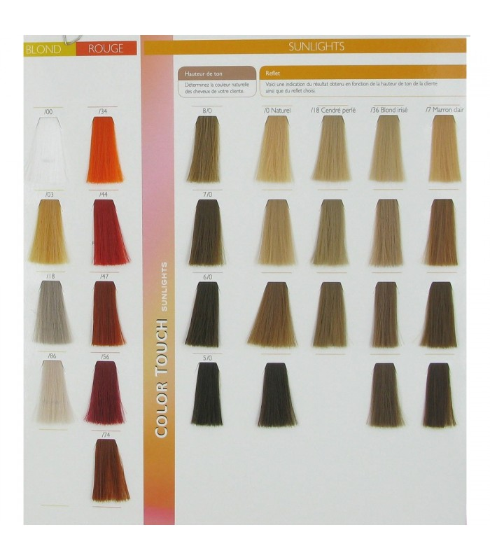 Swatches Color Touch Wella 2