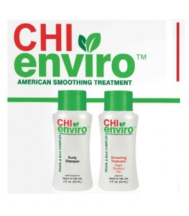 kit lissage CHI ENVIRO American Smoothing Treatment C/N