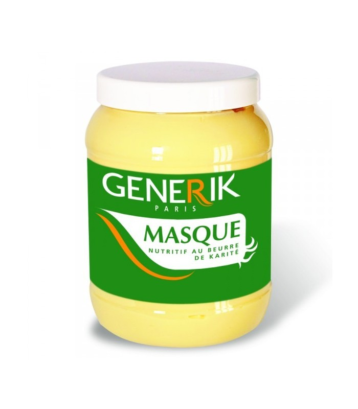 generik masque nutritif au beurre de karit 1000ml. Black Bedroom Furniture Sets. Home Design Ideas