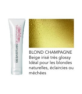 Cellophanes Champagne blond