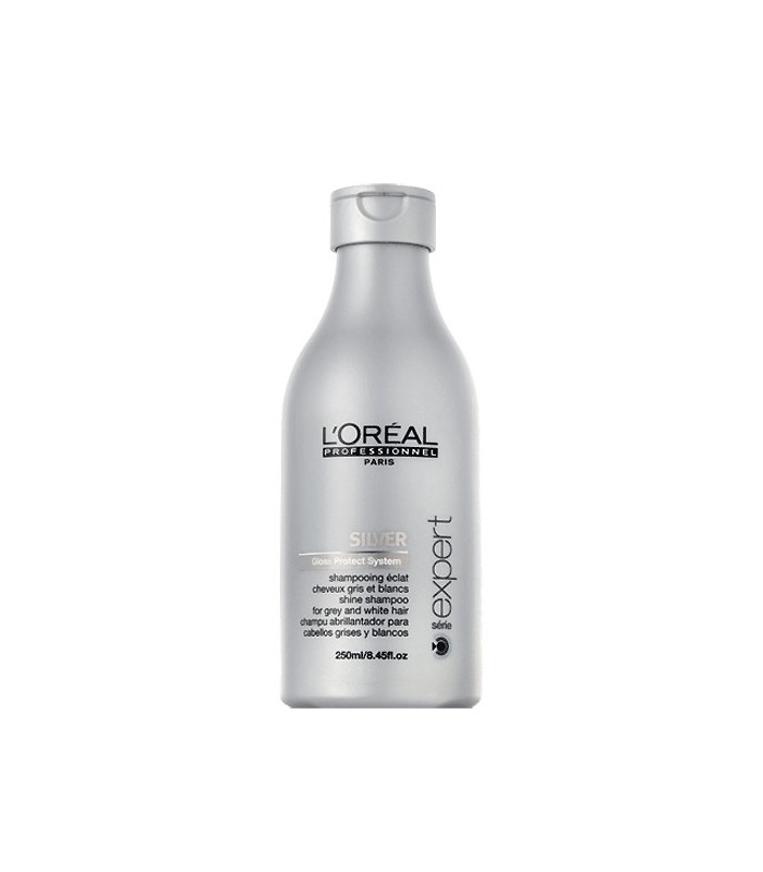 L 39 oreal silver shampooing clat cheveux gris blancs blonds for Miroir eclat silver