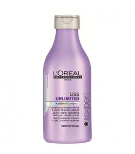 Liss Unlimited Shampooing Lissage intense l'oreal professionnel 250ml