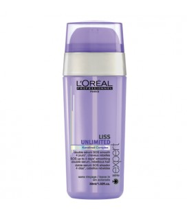 Liss Unlimited Double serum lissage intense l'oreal professionnel 30ml