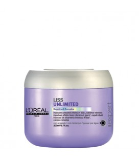 Liss Unlimited masque Lissage intense l'oreal professionnel 200ml